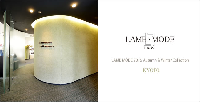 LAMB MODE 2015 Autumn & Winter Collection - KYOTO